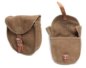 Russian military pouch bag for drum-magazine PPSH