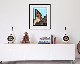 Chimneys Glossy Photographic Print - Free Shipping
