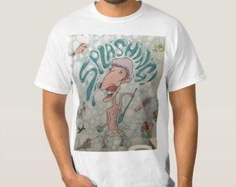 T-shirt with custom design by LLOYD DESIGN.