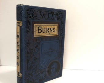 1887-The Poetical Works of Robert Burns, Edited by Alexander Smith, Family Edition Fully Illustrated with New Wood Engravings