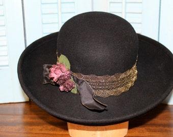 Beautiful Black Street Smart hat