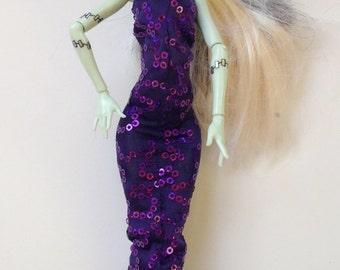 Monster High Clothes Handmade Dress Ever After High La Dee Da (S1508)