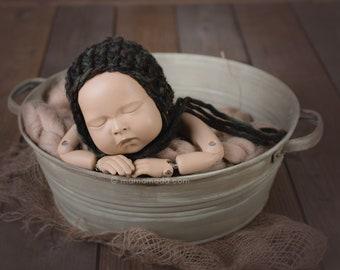 Washtub - vintage class, newborn props, newborn posing stool, baby photo prop, newborn photo prop, newborn prop, photography props