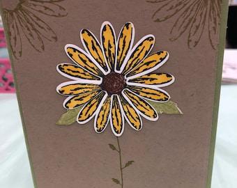 Thankful Flowers Card