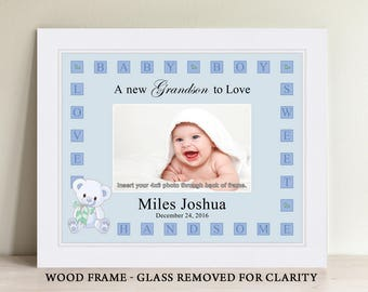 Personalized baby girl picture frame baby gift personalized personalized baby boy picture frame baby gift personalized baby picture frame negle Image collections
