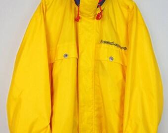 Vintage Yellow HEAD SPORT Jacket