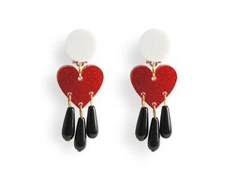 Dream of Love Earrings / Love Talismans Collection.