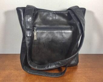 Nine West, Black Leather Purse, Bag Shoulder Bag