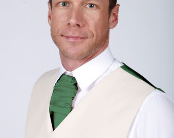 Emerald Green Men's Cravat by Matchimony