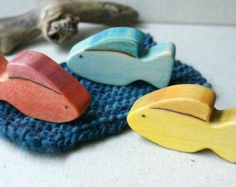 Wood n Wool Fishy Friends