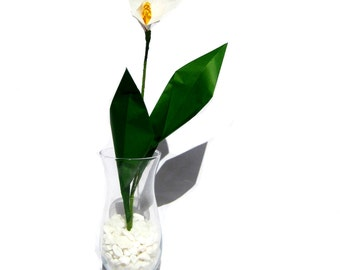 Origami Flowers   Paper Calla Lily