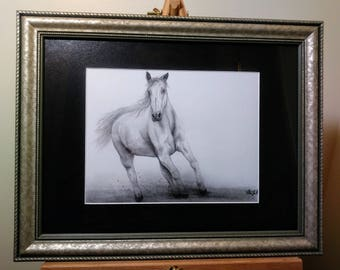 Horse Drawing  Limited Edition Print