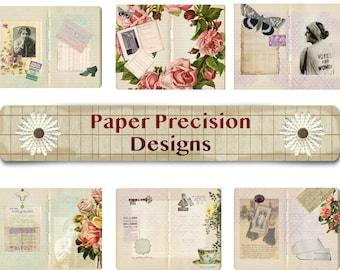 digital download printable vintage suffragettes journal kit