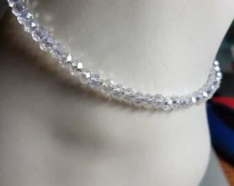 Anklet, Swarovski Crystal Anklet, Bing Anklet, Swarovski Crystal Ankle Bracelet, Donna J Jewelry