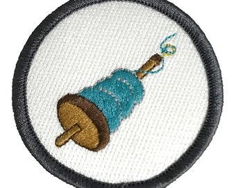 Drop Spindle Love Craftbadge craft merit badge