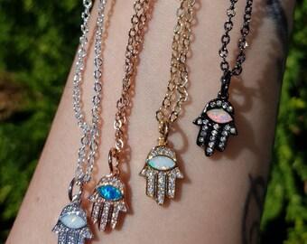 Beautiful little hamsa pendant