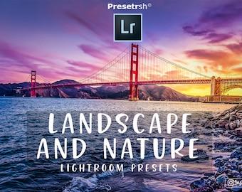 25 Pro Landscape and Nature Adobe Lightroom presets for Lightroom 4, 5, 6 and CC