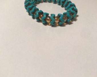 Turquoise Wave Bracelet