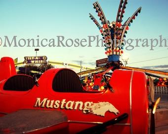Carnival Ride - Fine Art Print