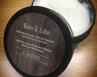 B. Groomed Balm and Lube