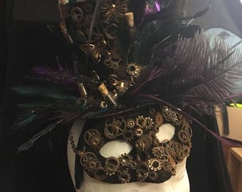 Steampunk Hat with Headband