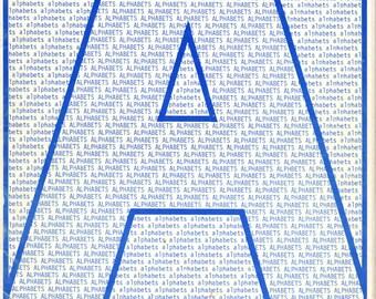 Alphabets Cross Stitch Book by Katrina Designs