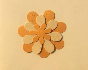 Handmade Flower Greetings Card