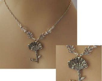 Make a Wish Dandelion Pendant Necklace Jewelry Handmade NEW Adjustable Silver Accessories Fashion Fairytale