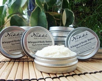 Natural Whipped Body Butter SAMPLE