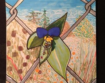 Beautiful Weeds - Inktober Day 1 Original Drawing