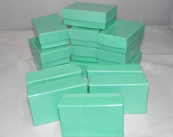Kraft Jewelry Gift Boxes Cotton Filled Presentation Display