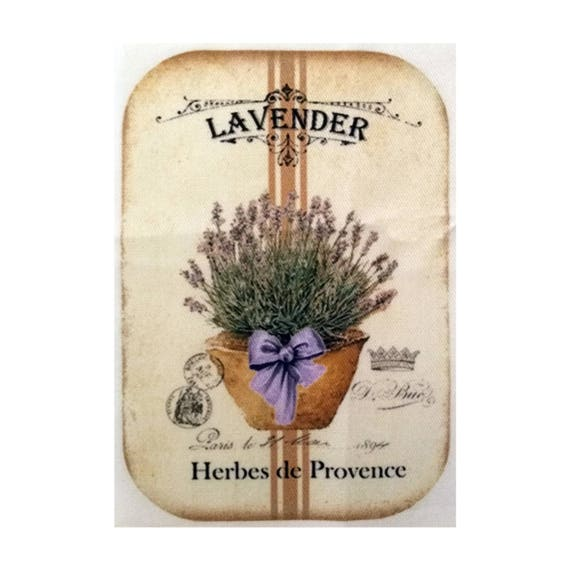 """Applied fusible - Collection """"Lavender"""" AT403-4"""