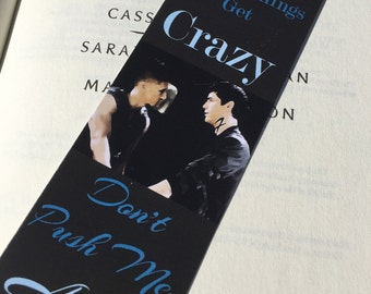 Magnus Bane quote - Malec Shadowhunters/Mortal Instruments by Cassandra Clare bookmark, Alec Lightwood, Shadowhunters, Harry Shum Jr.