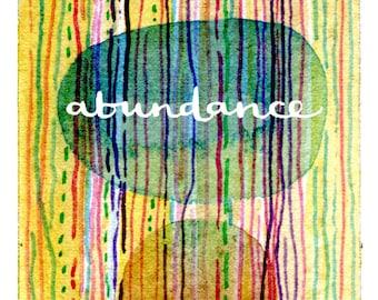 Abundance Matted Fine Art Print