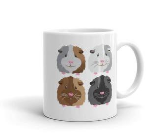 Four guinea pigs Mug