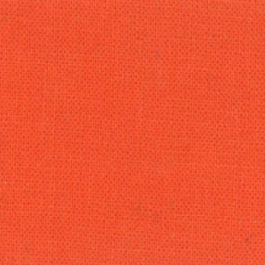 Clementine Orange Solid Cotton Fabric - Modern Quilting Sewing - Moda Fabrics Bella Solids Collection - cotton Fabric by the yard