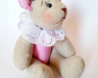Bear linen&cotton. good friend