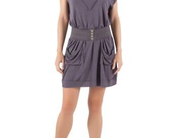 Deep-V Dress