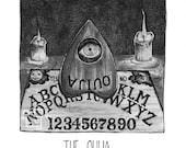 The Ouija - Inktober - Pr...