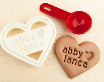 Name That Cookie Custom Cutters by NameThatCookie on Etsy