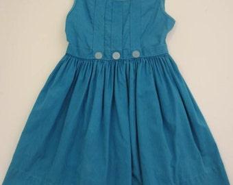 little blue dress vintage