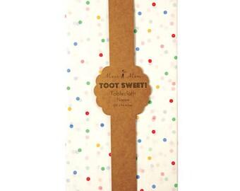 Table Cloth, Polka Dots, Polka Dot Tablecloth, Table Cover, Colorful Table Cover, Party Table Cloth, Polka Dot Decor,Polka Dot Cover,Oh Baby