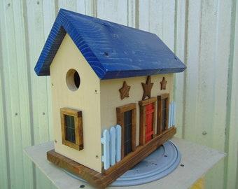 Decorative Birdhouse - Bird House - Rustic Birdhouse - Unique Birdhouse