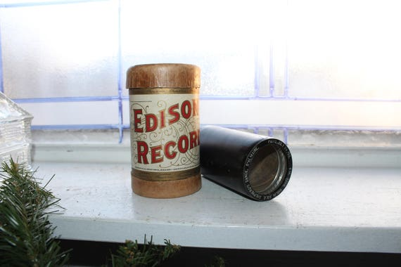 Antique Edison Cylinder Record 3208 Shepherd's Dance on Violin