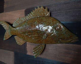 fish sculpture White Grunt