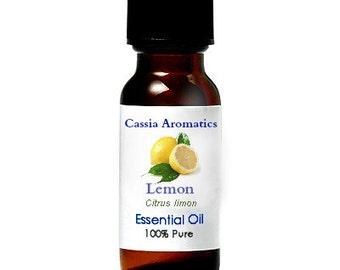 Lemon Essential OIl Certified Pure Grade 100% Pure choose your size