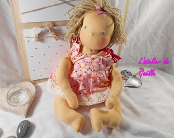 Baby Waldorf 40 cm doll 100% eco-friendly, natural fabric, environmental, organic doll, natural fibers