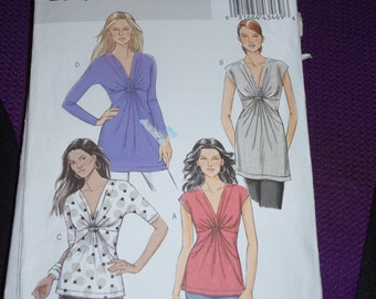 Butterick 5495 Very Easy Loose-fitting Tops Pattern Size 8 - 14  New - Uncut