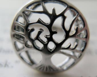 Tree of Life Ring - 925 Sterling Silver Ring - Silver Tree Ring - Tree jewelry - Sterling Silver Ring - Inspiration Ring - Everyday Ring