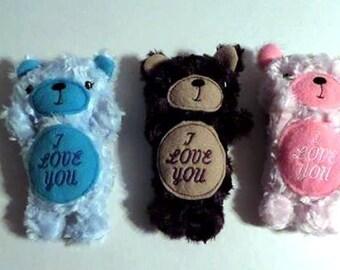 """Teddy Bear - """"I Love You"""""""